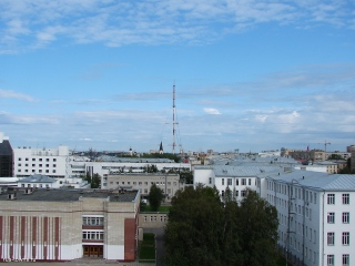 Архангельск. Телебашня