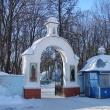 Ограда и главный вход на Казанское кладбище