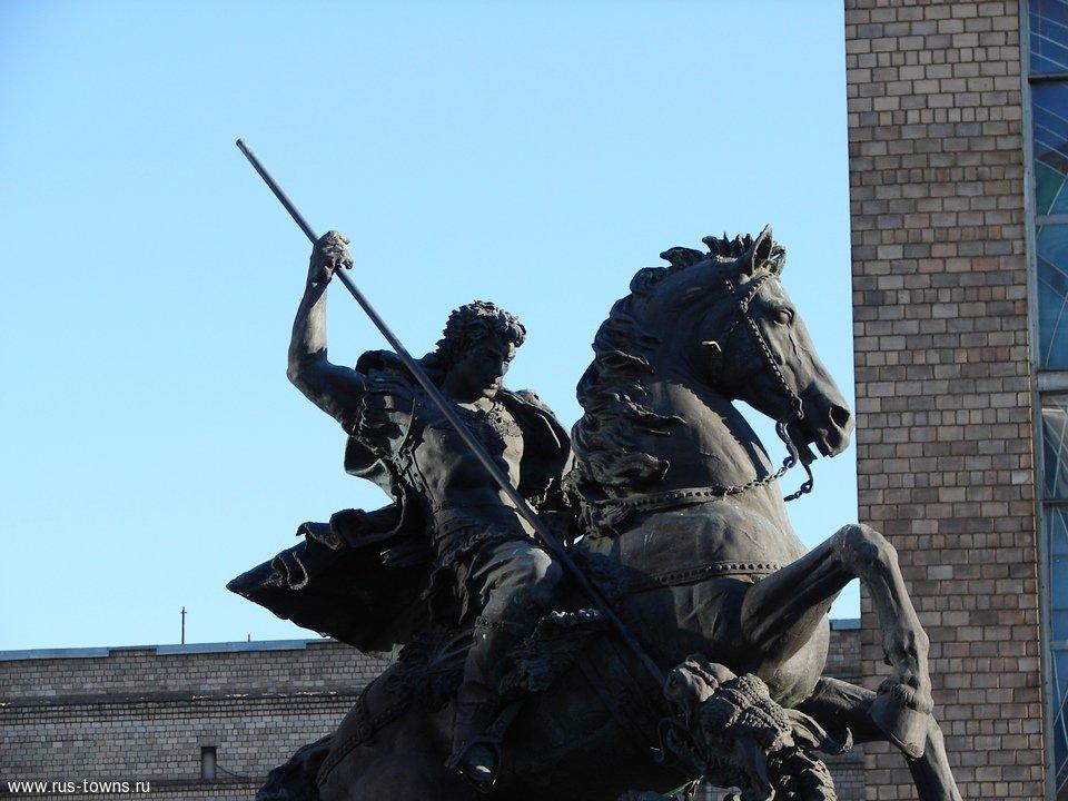 принадлежит георгий победоносец памятник в москве фото можно