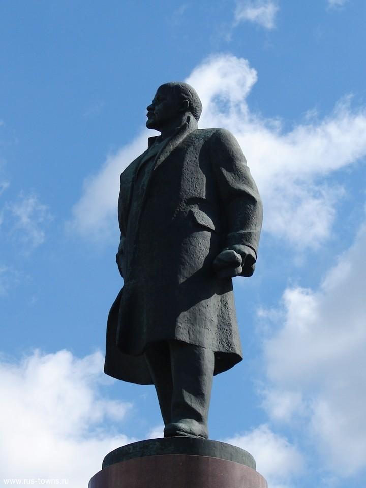 Памятник ленину на яндекс картах