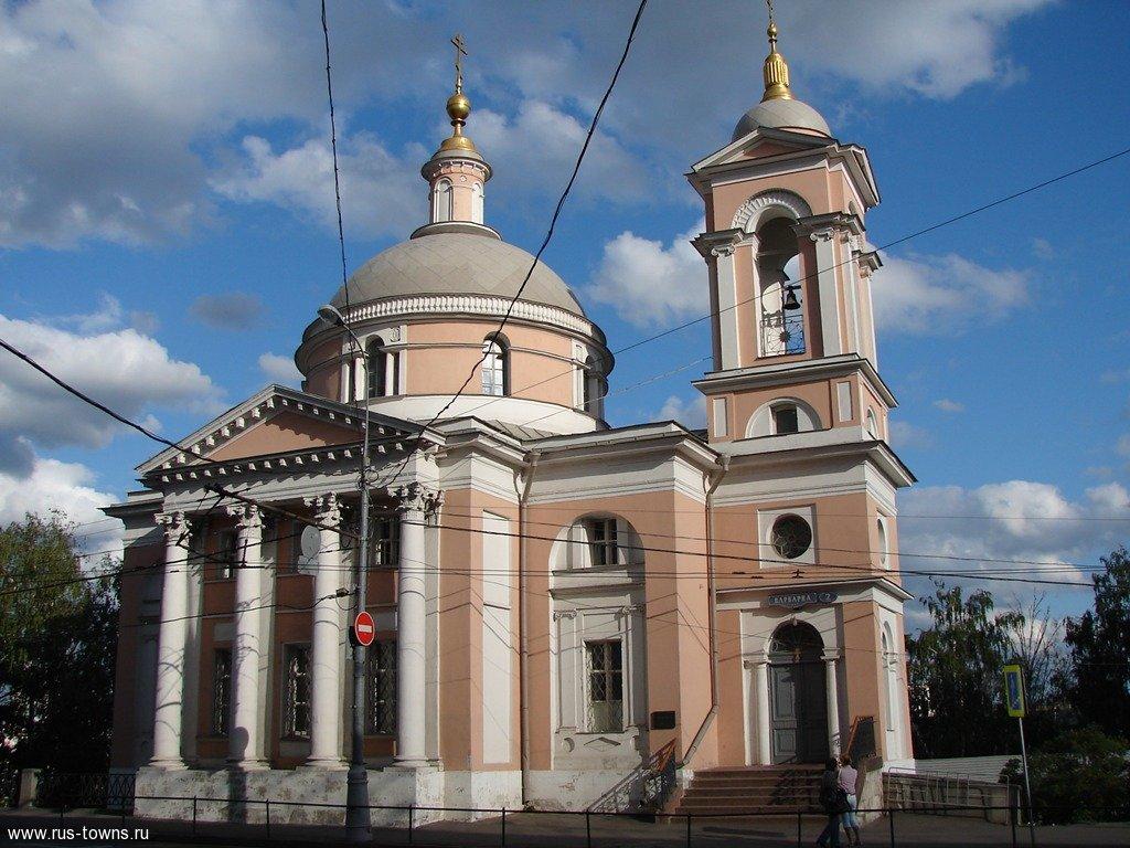 Церковь святого георгия на варварке