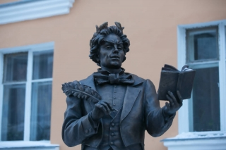 Памятник Козьме Пруткову