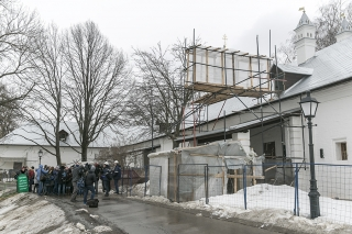 Реставрация Новодевичьего монастыря