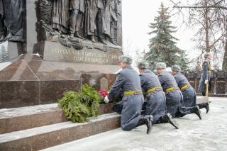 Открытие Мемориального комплекса, посвящённого городам воинской славы
