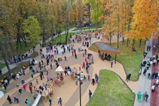 В Серпухове после реконструкции открыли парк им. Олега Степанова