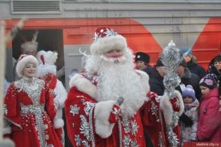 Дед Мороз прибыл в Новогоднюю столицу России