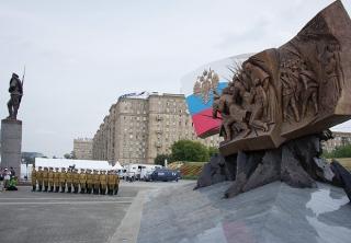 Открытие памятника героям, павшим в годы Первой мировой войны