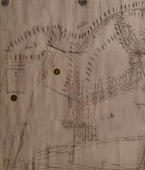 Чертёж спорной земли по реке Дон около Тешевского монастыря