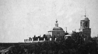 Храм св. Димитрия Солунского. Фото начала XX в.