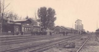 Вокзал станции Данков