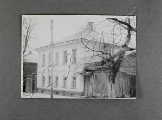 Дом, в котором проживала семья В. Пащенко