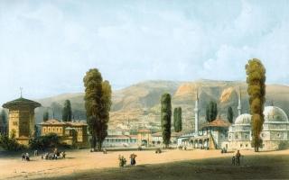 Ханский дворец. Карло Боссоли. 1840-1842