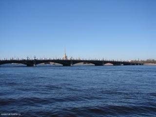 Троицкий мост. Фото 08.05.2013