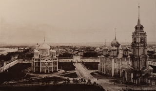 Общий вид кремля. Фотография начала xx века