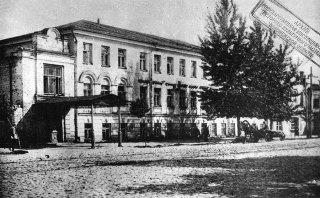 Гостиница Шванвича. Фото начала XX в.