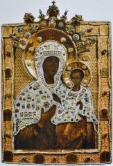 Богоматерь Одигитрия Смоленская. Москва, 1456
