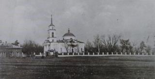 Успенский храм. Фото 1910 г.
