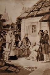 Беседа св. Тихона с простым народом в Задонском монастыре